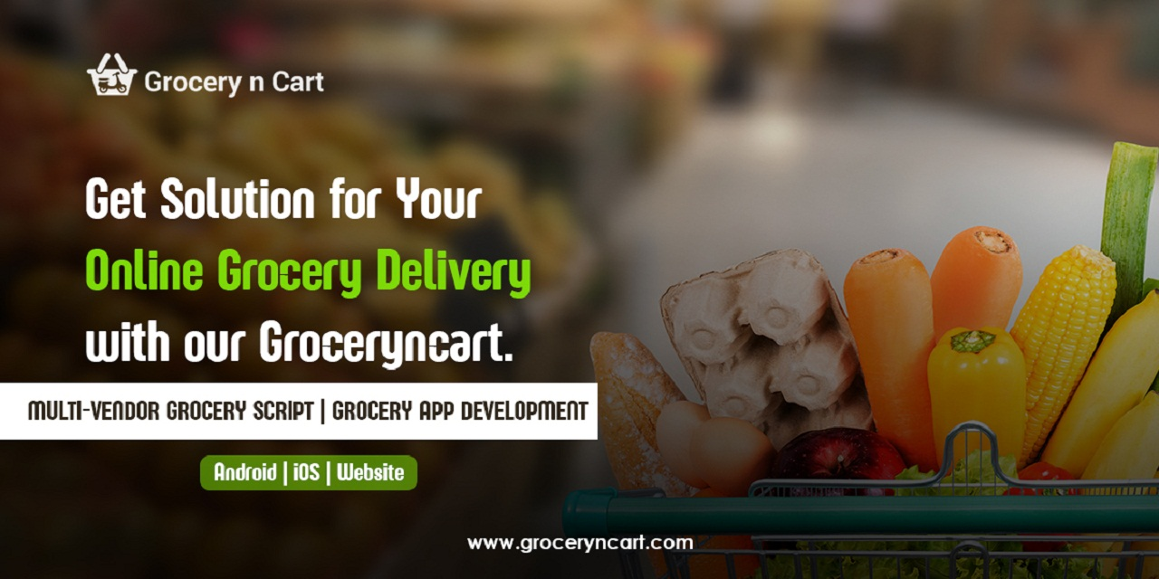 Online Grocery Delivery script