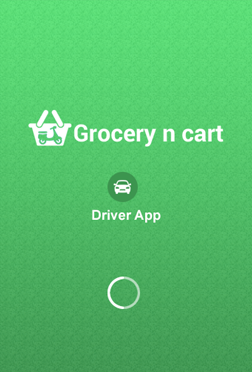 Grocery Driver app